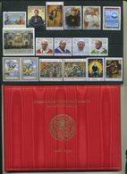 2019 Vaticano, Annata Completa Con Folder, Minifogli Rembrant E 90° Ann. Stato Vaticano - Annate Complete