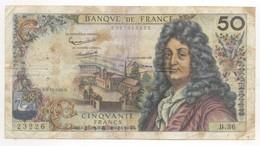 50 FRANCS RACINE 1962   6/12/1962  B 36 - 1962-1997 ''Francs''