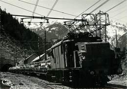 CPSM TUNNEL DE FREJUS - Montcenis - Modane Bardonecchia - La Navette Sortant Du Tunnel - Trafic International  L3066 - Non Classificati