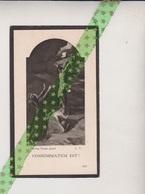 Petrus Bruylandt-Daneels, Onkerzele 1840, Geraardsbergen 1931 - Esquela