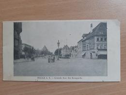 HALLE  A S . Grande Rue Des Remparts. - Halle (Saale)