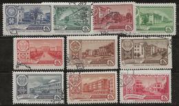 Russie 1960 N° Y&T : 2285 à 2294 Obl. - Usados