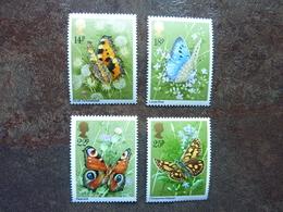 1981  Butterflies   SG = 1151 / 1154   **  MNH - 1952-.... (Elizabeth II)