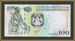 Lesotho 100 Maloti 2009 P-19 (19e) UNC - Lesotho