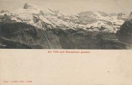 Pionnière Dos Non Divisé  Goetz . Der Titlis Vom Stanserhorn Gesehen - BE Berne