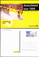 Deutschland Gernany Allemagne - Deutsche Post - Offizieller Partner Der Deutschland Tour 1999 - Ungelaufen - [7] République Fédérale