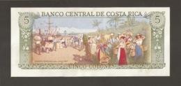 COSTA RICA 5 COLONES 1989 (W86) - Costa Rica