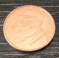 1993 * 1 Peso Cuba 40°anniversaire Moncada Fidel Castro - Cuba