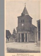 02 - BOUCONVILLE / CARTE POSTALE ALLEMANDE DE L'EGLISE - Other Municipalities