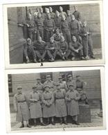 Lot De 2 CPA 1934 Groupes De Militaires Sarrebourg - War 1939-45