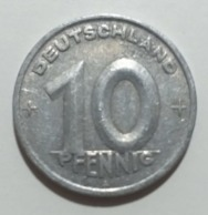 Germania DDR 10 Pfennig 1949A - [ 6] 1949-1990 : RDA - Rep. Dem. Alemana
