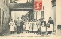 ROQUEFORT  Fabrication Du Fromage , Groupe De Cabanières - Roquefort