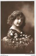 Fillette - Beau Portrait De Petite Fille - Boucles Brunes - RPH N° 3586/4 - 2 Scans - Portraits