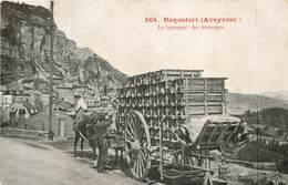 ROQUEFORT  Le Transport Des Fromages - Roquefort
