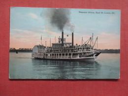 Steamer Alton  East St. Louis Ill.        >ref 3997 - Paquebots