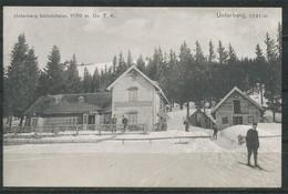 Ansichtskarte   Unterberg- Schutzhaus - Österreich