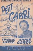 LOT De 10 PARTITIONS ANCIENNES D'ANNIE CORDY Avec Photo. - Noten & Partituren