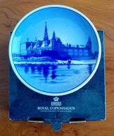 Plaquette : Porcelaine Royal Copenhagen : Palais Kronborg (avec Boîtier) - Porcelana