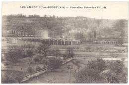 Cpa Ambérieu En Bugey - Nouvelles Rotondes - Autres Communes