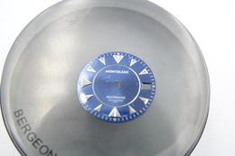 Watches PARTS : DIAL MONTBLANC MEISTERSTUCK AUTOMATIC 7035 ** - Color : Blue - Original Vintage - Genuine Parts -swiss - Andere