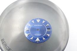Watches PARTS : DIAL MONTBLANC MEISTERSTUCK AUTOMATIC 7035 *** - Color : Blue - Original Vintage - Genuine Parts -swiss - Andere