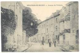 Cpa Serrières De Briord - Avenue De Villebois - Francia