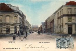 Belgique - Tongeren - Tongres - Rue De La Station - Nels Série 42 N° 38 - Couleurs - Tongeren