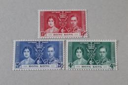 N° 137 à 139       Couronnement De George VI En 1937 - Used Stamps