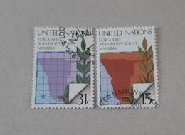 N° 304 Et 305       Pour Une Namibie Libre - New-York - Siège De L'ONU