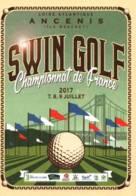 CPM - SWIN GOLF - Championnat De France - ANCENIS - Juillet 2017 - Edition Pub - Golf