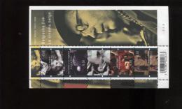 Belgie Blok Feuillet BL145 Plaatnummer 2 Belgische Film Delvaux Hansel Kumel Storck Dardenne Cinema 3678/82 - Blocks & Sheetlets 1962-....