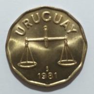 Uruguay  50 Centimos 1981 - Uruguay