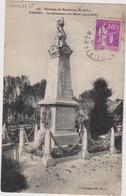 PIERRES (28) - CPA - Monument Aux Morts 14-18 Environs De MAINTENON, Coq, Croix De Guerre, Obus - Sonstige Gemeinden