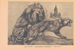 75 - PARIS / EXPOSITION COLONIALE 1931 Par FRANCINE CARTIER - Expositions