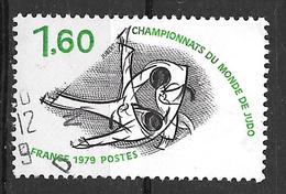 FRANCE 2069 Championnats Du Monde De Judo Sport - Gebruikt