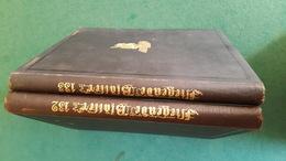 CARICATURES LES FEUILLES VOLANTES FLIEGENDE BLATTER Année 1910 En 2 Volumes Reliés Très Bon état - Hobbies & Collections