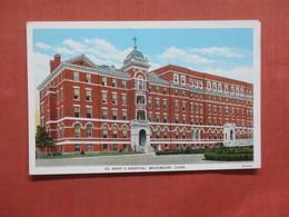 St Mary's Hospital   Waterbury Connecticut >> Ref 3997 - Waterbury