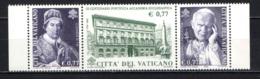 VATICANO - 2002 - 3° CENTENARIO DELLA PONTIFICIA ACCADEMIA ECCLESIASTICA: PAPA CLEMENTE XI FONDATORE - MNH - Nuevos
