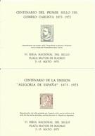 ESPAÑA  EDIFIL HOJAS RECUERDO   7/8   MNH  ** - Fogli Ricordo