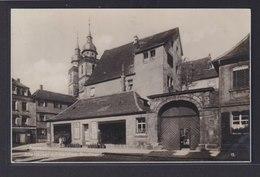 Ansichtskarte Bayreuth Bayern Alte Häuser Ehemalige Stadtmauer Kirche Religion  - Deutschland