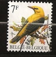 Belgique Belgie 1992 N° 2476 O Courant, Oiseau, Loriot, Olivier Messiaen, Migrateur, Oeuf, Nid, Insecte, Carl Von Linné - Belgium