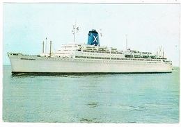 SCH-1029   T.S.S. REGINA MAGNA ( Chandris Cruises) - Passagiersschepen