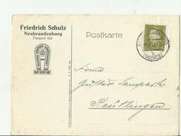 DR GS 1932 NEUBRANDENBURG - Storia Postale