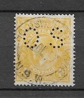 "1915 USED Australia Wmk ""single Crown"" Michel 30c - Officials"