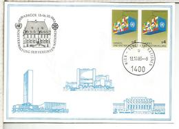 NACIONES UNIDAS ONU UNITED NATIONS 1983 OSNABRUCK ARQUITECTURA - Centre International De Vienne