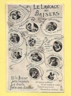 CP LE LANGAGE DES BAISERS - Fancy Cards