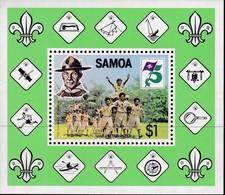 Samoa 1982 Boy Scouts Sc 578a Mint Never Hinged - Samoa