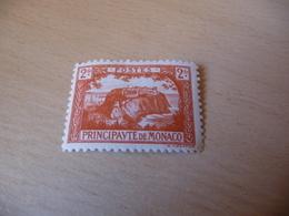 TIMBRE  DE  MONACO  ANNÉE   1922-23      N 61   COTE  1, 10  EUROS  NEUF  TRACE  CHARNIÈRE - Neufs