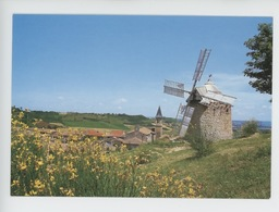 Lautrec (Tarn) Le Moulin (moulin à Vent) - Lautrec