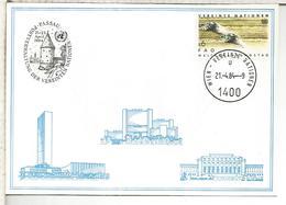 NACIONES UNIDAS ONU UNITED NATIONS 1984 PASSAU ARQUITECTURA - Centre International De Vienne